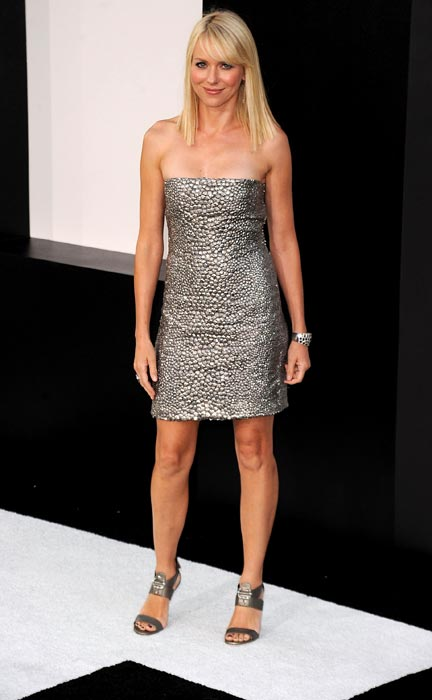 """Actress Naomi Watts arrives at the premiere of Sony Pictures' """"Salt"""" at Grauman's Chinese Theatre on July 19, 2010 in Hollywood, California.  ("""