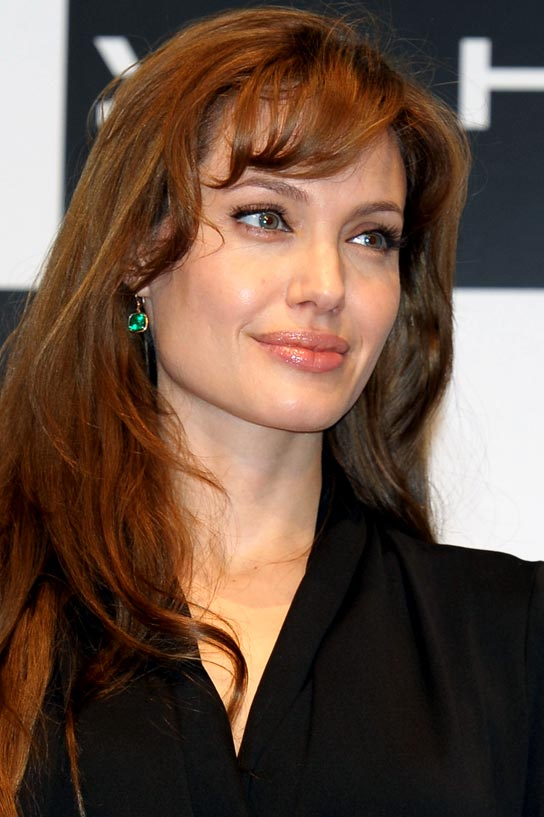 "Actress Angelina Jolie attends the ""Salt"" press conference at Grand Hyatt Tokyo on July 27, 2010 in Tokyo, Japan. The film will open on July 31 in Japan."