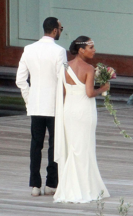 Alicia Keys Marries Boyfriend Swizz Beatz In France