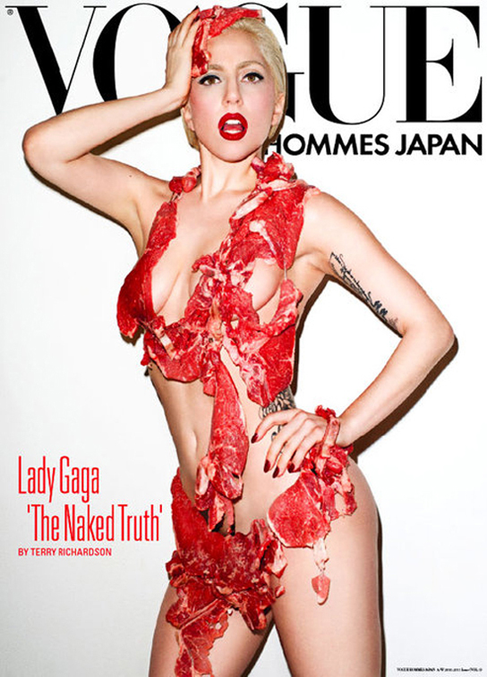 Lady Gaga appears on 'Vogue' Japan.