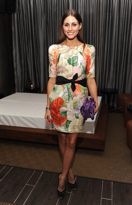"Olivia Palermo attends the after party for the Cinema Society with People StyleWatch & J. Crew screening of ""The Romantics"" at the Gansevoort Park Avenue on September 7, 2010 in New York City."