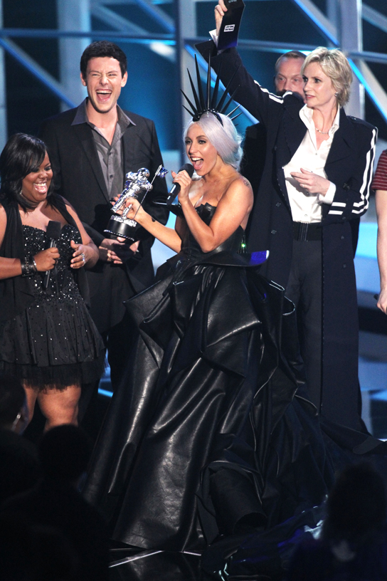 Lady Gaga at the 2010 MTV Video Music Awards, Sept. 12, 2010.